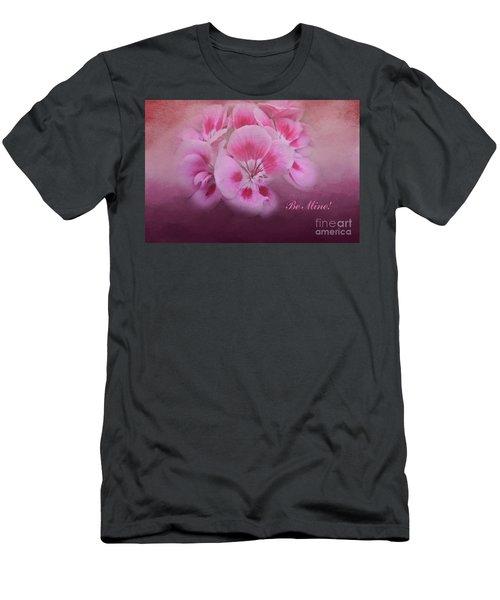 Be Mine Men's T-Shirt (Slim Fit) by Joan Bertucci