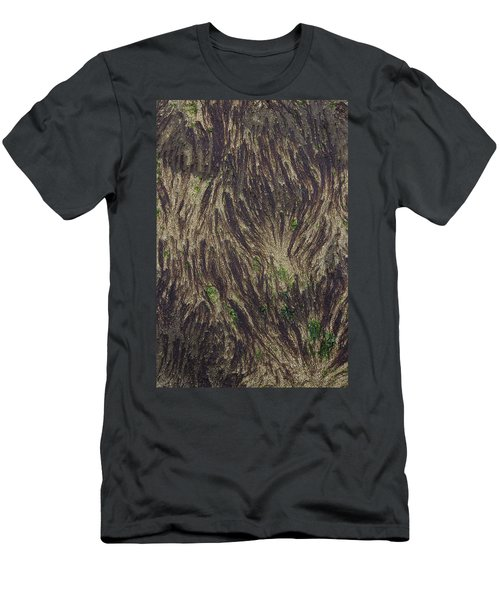 Beach Abstract 21 Men's T-Shirt (Athletic Fit)