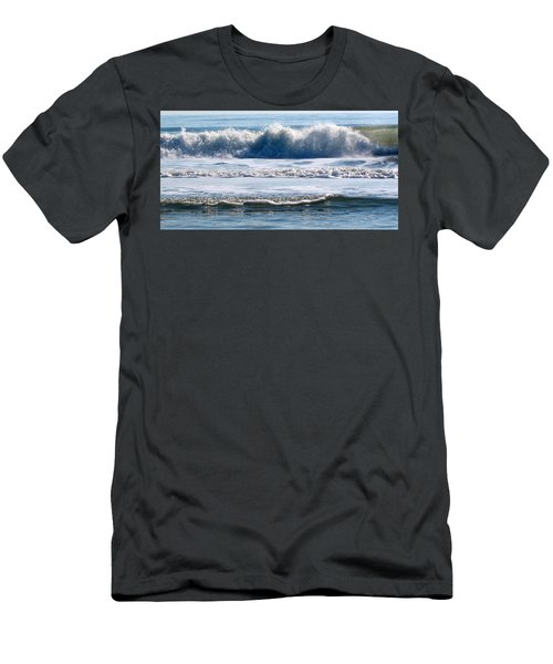 Beach At Iop Men's T-Shirt (Athletic Fit)