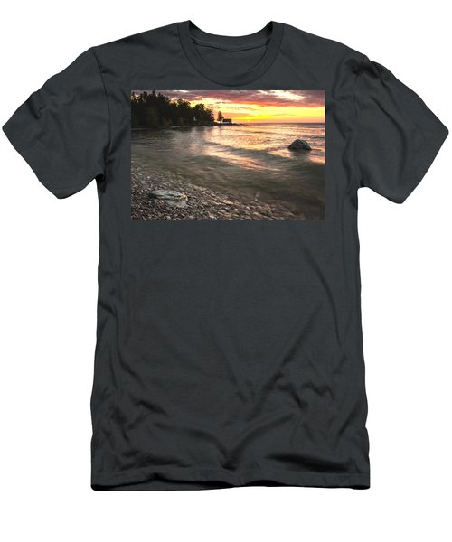 Beach Awakens Men's T-Shirt (Athletic Fit)