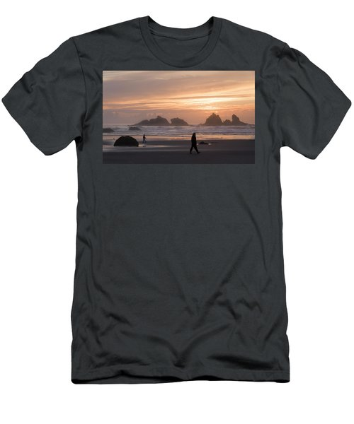 Beach Combers  Men's T-Shirt (Athletic Fit)