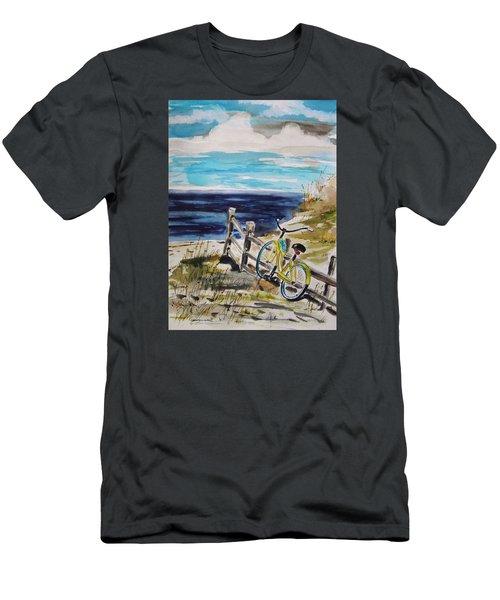 Beach Cruiser Men's T-Shirt (Slim Fit) by John Williams