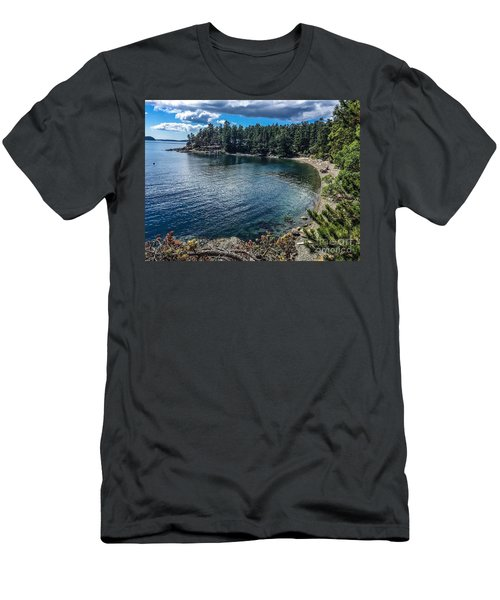Beach Days Men's T-Shirt (Slim Fit) by William Wyckoff