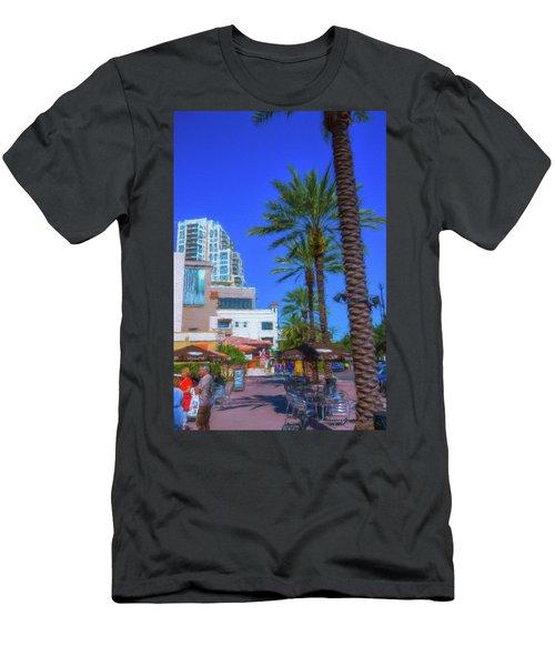 Beach Dr. St. Petersburg Florida Men's T-Shirt (Athletic Fit)