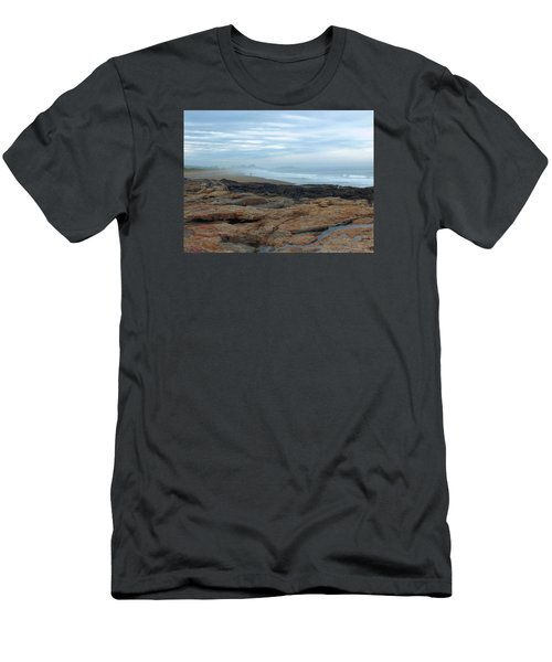 Men's T-Shirt (Slim Fit) featuring the photograph Beach by Gene Cyr