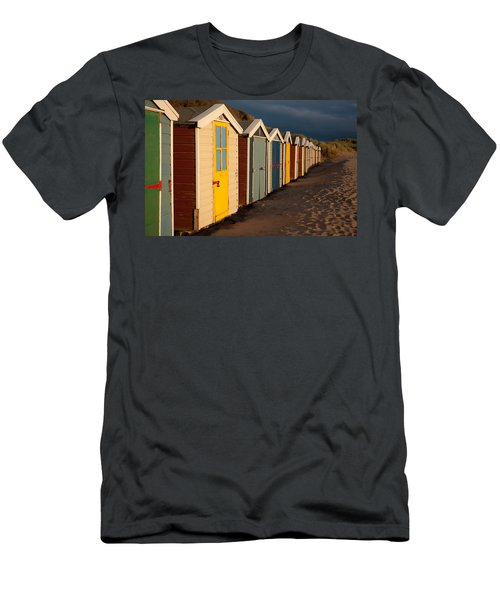 Beach Huts II Men's T-Shirt (Athletic Fit)