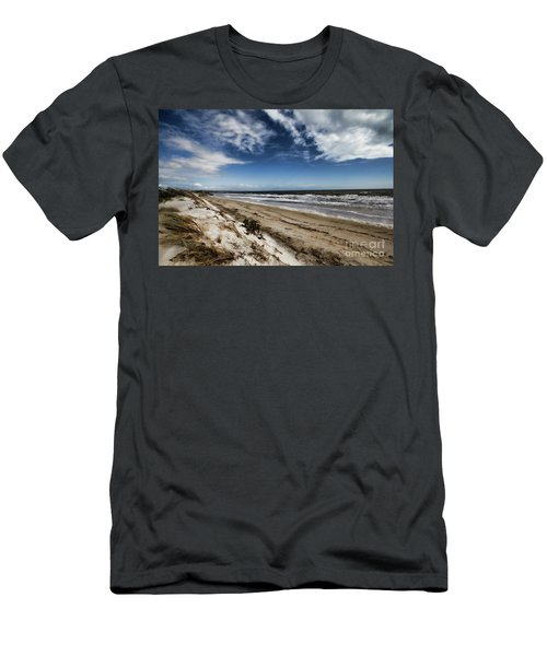 Beach Life Men's T-Shirt (Slim Fit) by Douglas Barnard