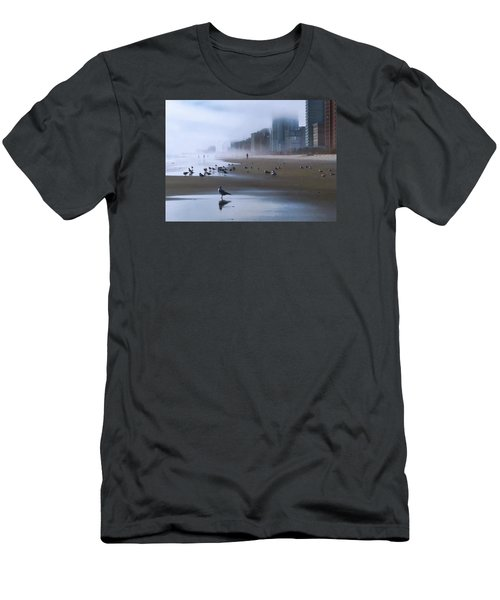 Beach Morning Men's T-Shirt (Athletic Fit)