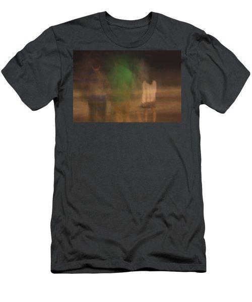 Beach Nite 1 Men's T-Shirt (Athletic Fit)