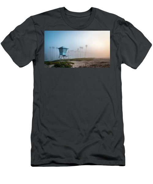 Men's T-Shirt (Slim Fit) featuring the photograph Beach Office by Sean Foster