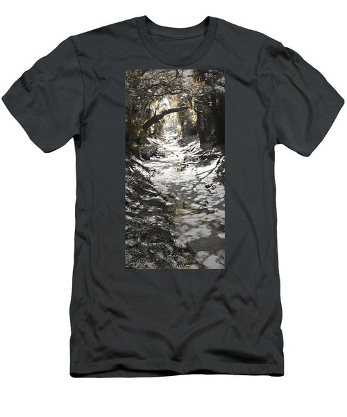 Beach Park Storm Drain Men's T-Shirt (Athletic Fit)