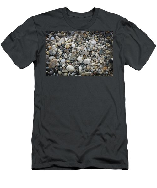 Beach Stones Men's T-Shirt (Athletic Fit)