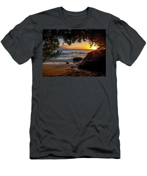 Beach Sunset Men's T-Shirt (Athletic Fit)