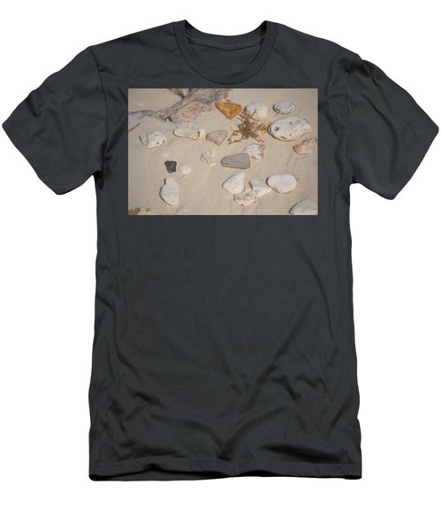 Men's T-Shirt (Athletic Fit) featuring the photograph Beach Treasures 2 by Melissa Lane