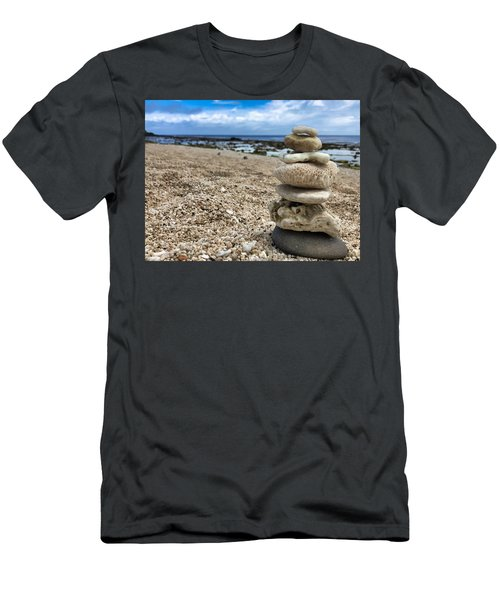 Beach Zen Men's T-Shirt (Athletic Fit)