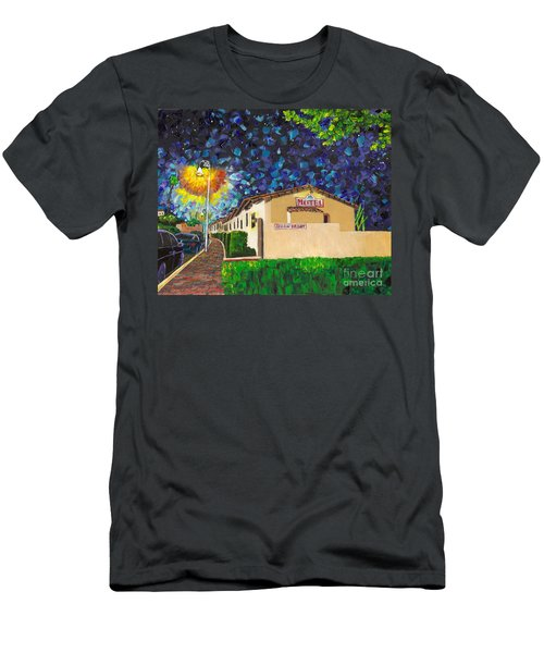 Beachcomber Motel Men's T-Shirt (Athletic Fit)