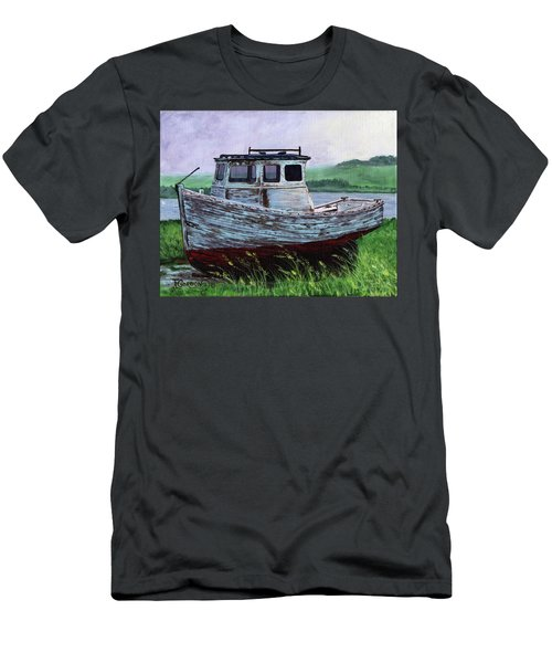 Beached At Bay Of Ayre Men's T-Shirt (Athletic Fit)
