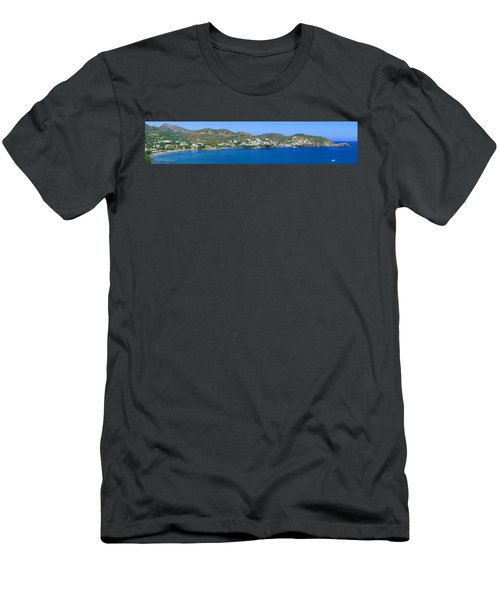 Beaches Of Bali Men's T-Shirt (Athletic Fit)