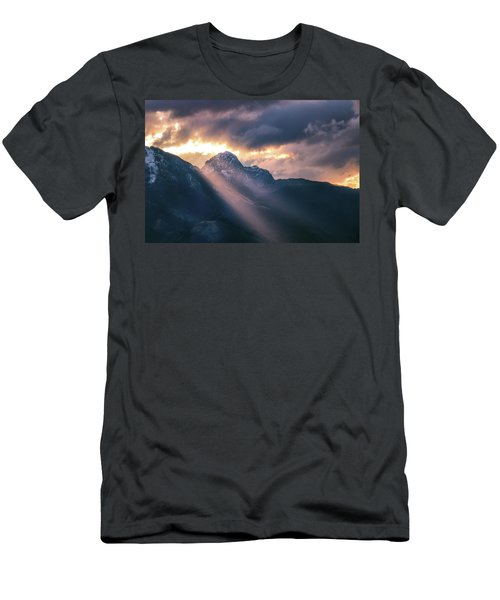 Beams Of Fire Men's T-Shirt (Athletic Fit)