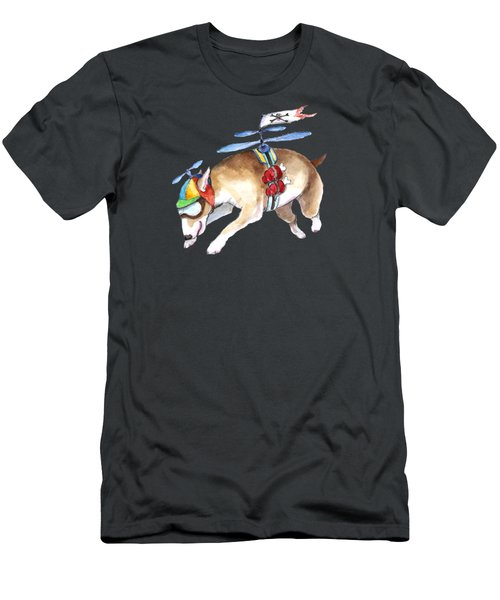 Beanie Bully  Men's T-Shirt (Athletic Fit)