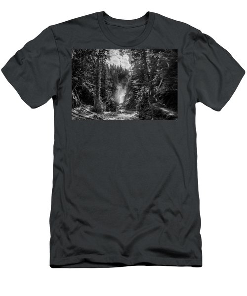Bear Creek Falls As Well Men's T-Shirt (Athletic Fit)