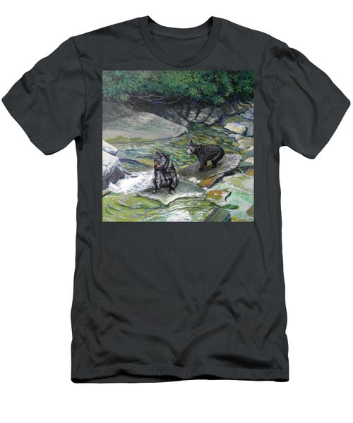 Bear Creek Men's T-Shirt (Athletic Fit)