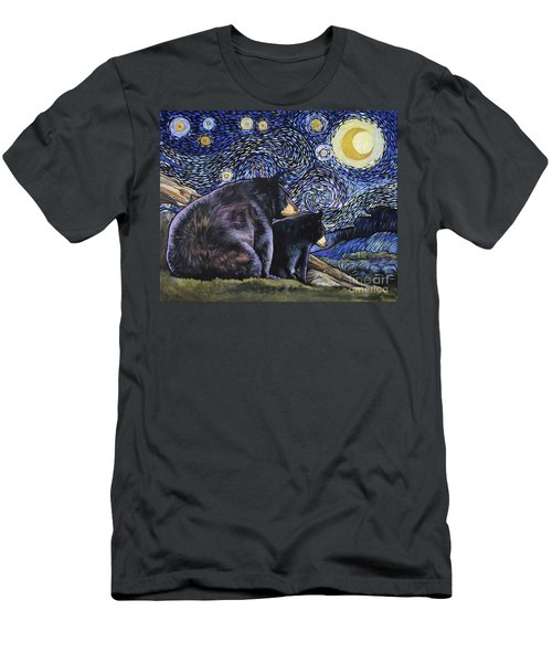 Beary Starry Nights Too Men's T-Shirt (Athletic Fit)