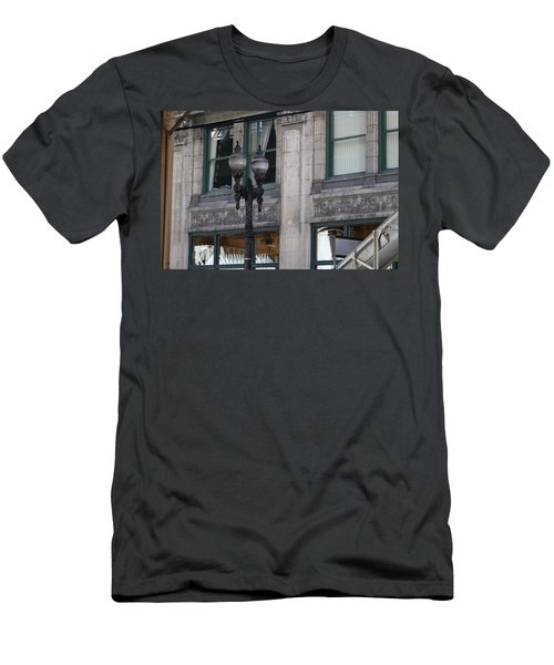 Beautiful Chicago Gothic Grunge Men's T-Shirt (Athletic Fit)