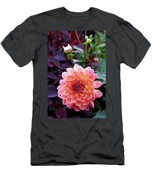 Beautiful Dahlia Men's T-Shirt (Athletic Fit)