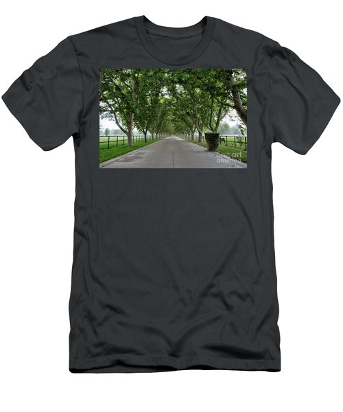 Entrance To River Edge Farm Men's T-Shirt (Athletic Fit)