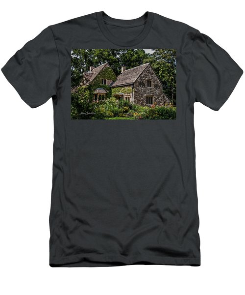 Men's T-Shirt (Slim Fit) featuring the photograph Beautiful Home by Joann Copeland-Paul