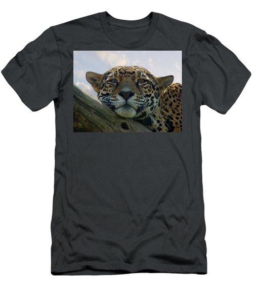 Beautiful Jaguar Men's T-Shirt (Athletic Fit)