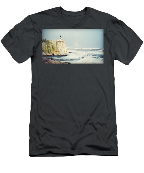 Beautiful Lighthouse Men's T-Shirt (Athletic Fit)