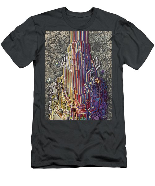 Beautiful Meltdown Men's T-Shirt (Athletic Fit)