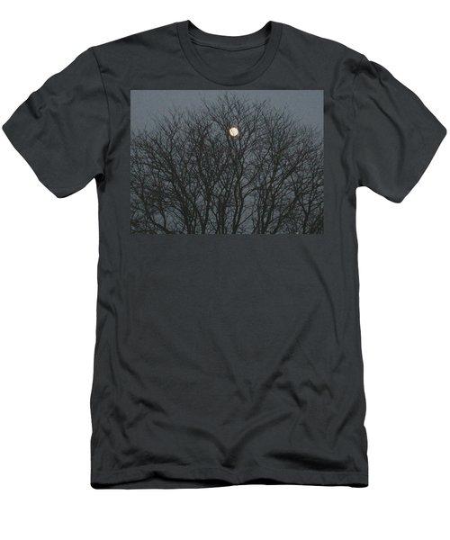 Beautiful Moon Men's T-Shirt (Athletic Fit)