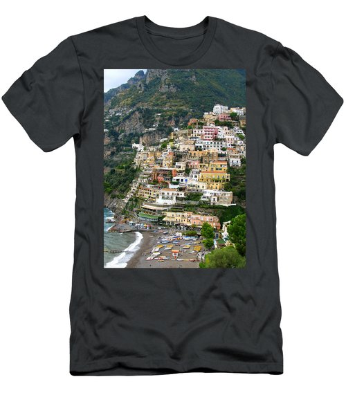 Beautiful Positano Men's T-Shirt (Slim Fit) by Carla Parris