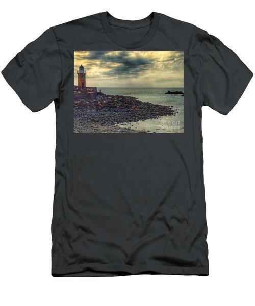 Beautiful Skies At Portpatrick 2 Men's T-Shirt (Athletic Fit)