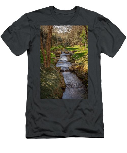 Beautiful Stream Men's T-Shirt (Athletic Fit)
