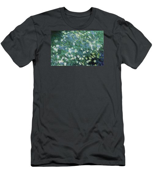 Beautiful Summer Blues Men's T-Shirt (Slim Fit) by The Art Of Marilyn Ridoutt-Greene