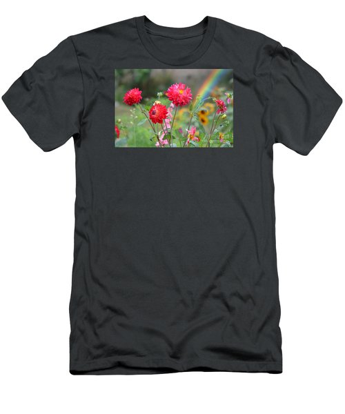 Beautiful Summer Flowers Men's T-Shirt (Athletic Fit)