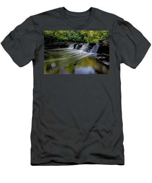 Beautiful Waterfall Men's T-Shirt (Athletic Fit)