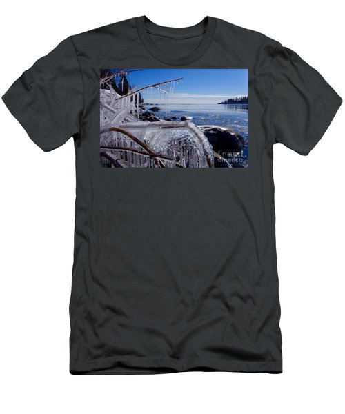 Beautiful Winter Day Men's T-Shirt (Athletic Fit)