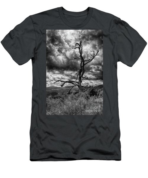 Beautifully Dead In Black And White Men's T-Shirt (Athletic Fit)