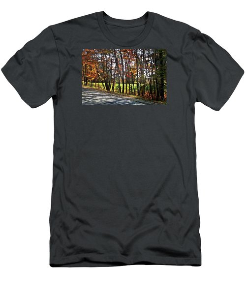 Beauty In The Dappled Light Men's T-Shirt (Athletic Fit)