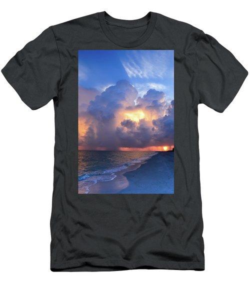 Beauty In The Darkest Skies II Men's T-Shirt (Athletic Fit)
