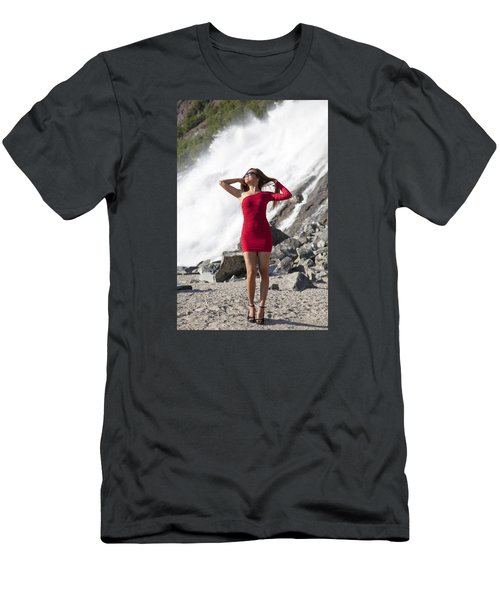 Beauty In Wilderness Men's T-Shirt (Athletic Fit)