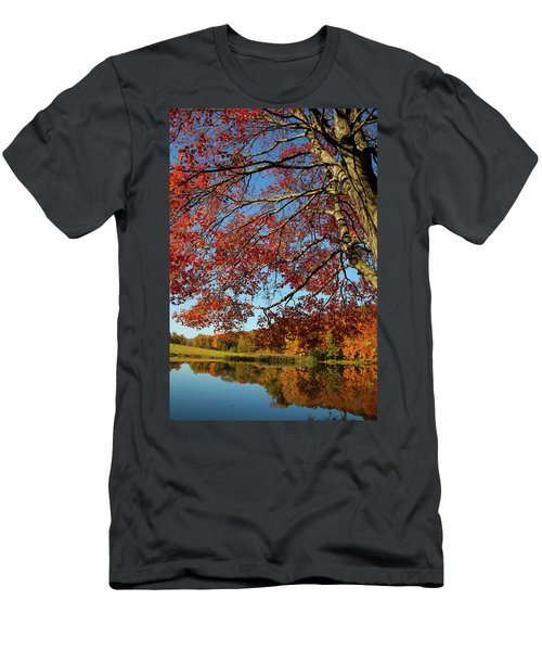 Men's T-Shirt (Slim Fit) featuring the photograph Beauty Of Fall by Karol Livote