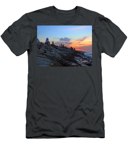 Beauty On The Rocks Men's T-Shirt (Athletic Fit)