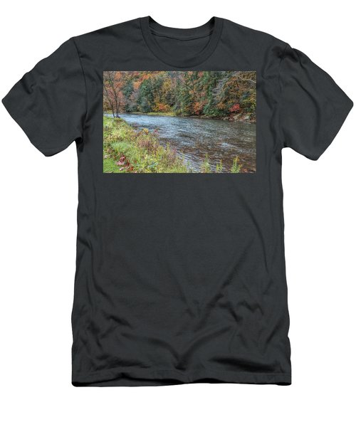 Men's T-Shirt (Athletic Fit) featuring the photograph Beaver Creek by John M Bailey