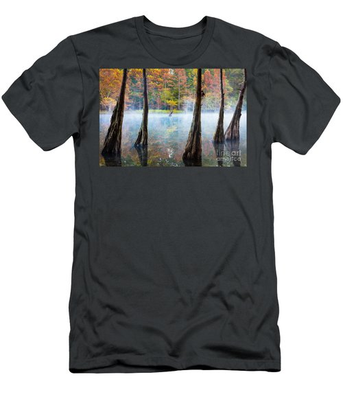 Beavers Bend Cypress Grove Men's T-Shirt (Athletic Fit)